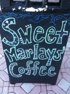 Sweet Marlay's Sidewalk Sign